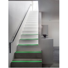 """Non Skid Traction Tape Glow in Dark Non-Slip Increase Friction Safety Fluorescent Anti Slip Grip Floor Stair Tread Step Anti-Slip Skid Tool Black 2""""Wide and 16'Long Roll by SOONGO"""