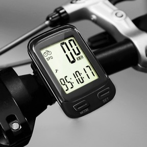 SOON GO Bike Computer Wireless Waterproof KM Cycle Speedometer Multifunctional Bicycle Accessories Large LCD Display Backlight