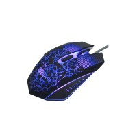 Gaming Optical Mouse, SOONGO Ergonomic USB Breathing LED Colors Wired Pro Gamer Mice with 3200 DPI Adjustable 6 Buttons Design for PC Computer Laptop